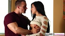 Screenshot Babes - Stri ped Shorts  starring  TJ Cummings a...