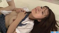 Screenshot Naosima Ai s choolgirl with need for cock goes n...