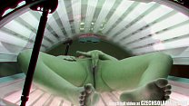 Screenshot Beautiful Cz ech Girl Masturbates in Public Sola...