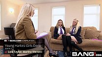 BANG com: Se xy Teen Harlots Have Fun In The Dorms