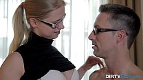 Dirty Flix    Studying and fucking with nerdy teeny