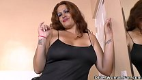 Latina BBW m ilf Sandra takes matters into her own hands