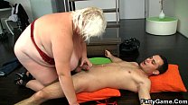 Blonde bbw s ex after photosession