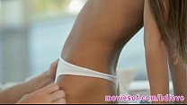 Petite latin a teen Veronica pussy railed hard by her lover