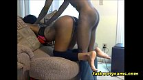 Curvy Black  Girl gets pounded Doggystyle   fatbootycams com