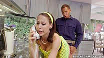 Housewife lo ves these 2 Black Cocks