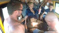 Ultimate Har dcore Orgy in Czech BANG Bus