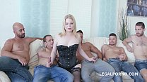 PAWG 5on1 Ad ry Berty welcome to PORN with DP /DAP /TP and 5 swallows
