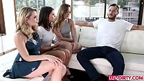 Adriana Chec hik 4some with Remy LaCroix and Mia Malkova