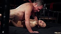 Screenshot Old man is s poiling his dick with fresh young w...
