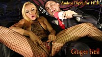 Screenshot Ginger Hell  puts a lollipop in her vagina for A...