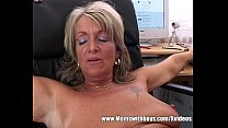Mature Blond e Boss Fucks An Applicant