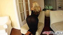 Milf Thing S kinny MILF Lucia loves doggy style when rubbing off