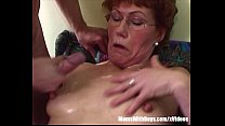 Screenshot Hairy Pussy  Redhead Stepmom Teen Couch Fucked
