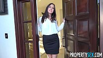 Screenshot PropertySex  - Horny real estate agent busted wa...