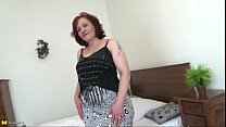 real granny  with fat ass