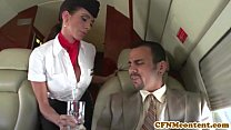 Screenshot Aimee Addiso n joins the mile high club