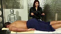 Screenshot Liv Aguilera  doing a hot and exciting massage