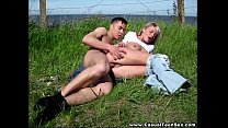 Casual Teen  Sex   Casual bang on the river bank