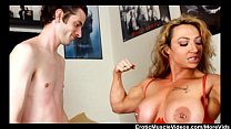 Screenshot EroticMuscle Videos Lift And Carry Femdom Part 1