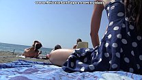 Public girlf riend fuck near the beach scene 3