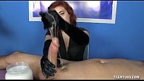 Dominant Red head  Lube Handjob