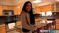 Screenshot PropertySex  - Client finds out hot Latina real ...