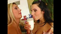 Sperm Swap N ymphomniac horny chicks with nasty oozing action