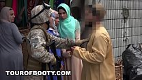 TOUR OF BOOT Y   Operation Pussy Run with Soldiers In The Middle East!
