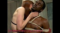 Sexy Dom Peg s her Slave