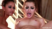 Screenshot Dani Daniels  Hot Threesome