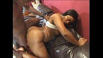 Screenshot Ebony with a  sexy rack gets her pussy pumped