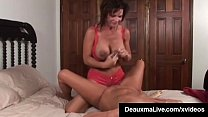 Screenshot Busty Milf D eauxma Squirts in Magdelaine St.Mic...