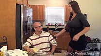 "Screenshot Madisin Lee  in MILF mom helps son with his ""Ter..."