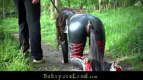 Screenshot Full day exp loitation of a bondage slave part 1...