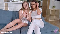 Lovemaking t he lesbian way with Alessandra Jane and Emma Brown on Sapphic Erotic