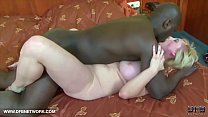Screenshot Granny gets  ass fucked with dildo and big black...