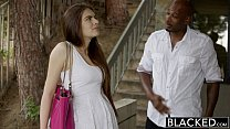 Screenshot BLACKED Firs t Interracial For Pretty GF Zoe Wood