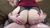 Big Booty Bi tch Naomi St Claire Rides A Little Dick