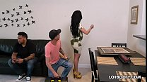 Big ass bust y brunette latina cheating wife Kitty Caprice