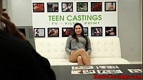 Brutal casti ng audition for curvy teen