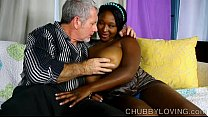 Screenshot Beautiful bi g tits black BBW gives an amazing b...