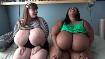 Screenshot Lexxxi Luxe  with BBW Porn Star Cotton Candi