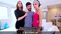 NEUTRE  3 Wa y Porn   Threesome for Newbie Actor with Hot Blonde & Petite Brunette