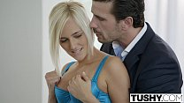 Screenshot TUSHY Hot Se cretary Kate England Gets Anal from...