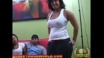 Big Booty Je rsey bitch and friend get fucked