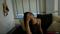 Pretty steps is gives head and gets pounded by her stepbro
