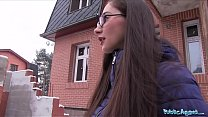 Screenshot Public Agent  Young Russian in Glasses Fucking a...
