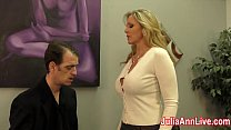 Screenshot Julia Ann Mi lks Stepson before his Date!