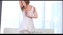 CastingCouch  X   Cute Lily Rader Swallows The